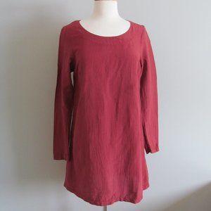 Prairie Underground Lagenlook Silk Hemp  Dress